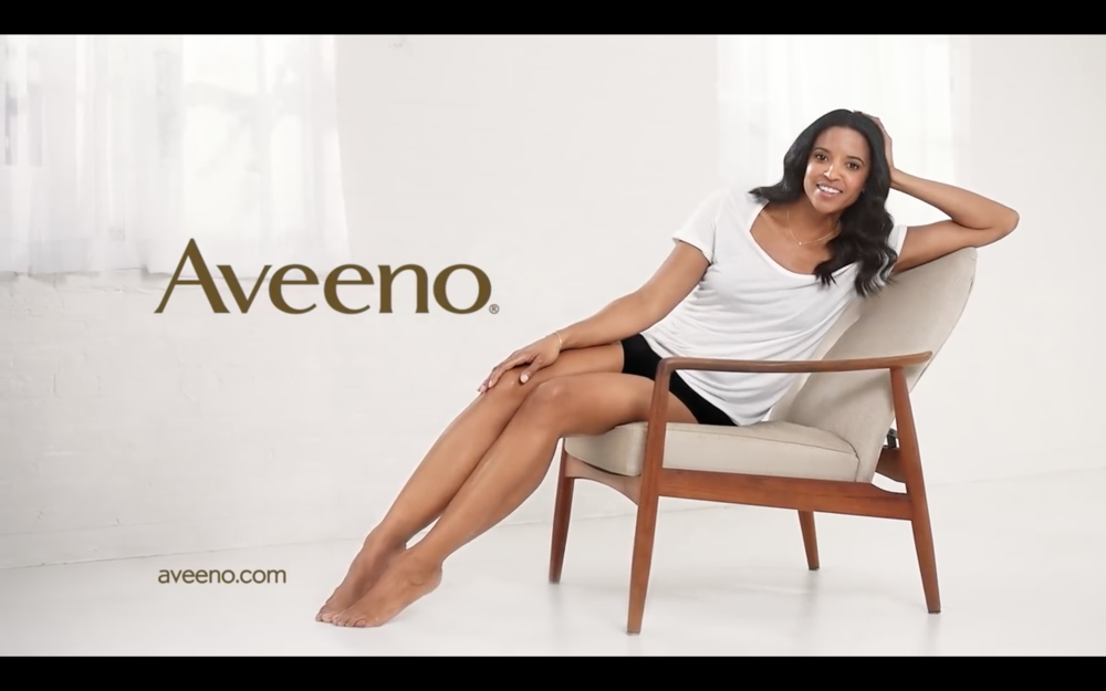 Renée Elise Goldsberry's Skin Relief Lotion MVP | AVEENO®