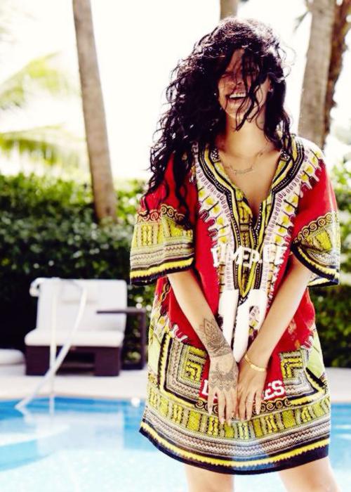 Dimepiece Top on Rihanna on Vogue.com