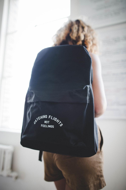 travel light - backpacks