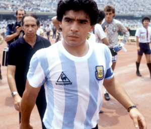 MARADONA HAD THE GREEN LIGHT FOR SWAG