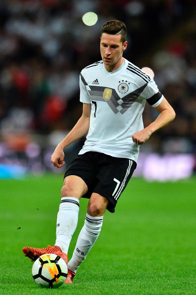 Draxler of Germany