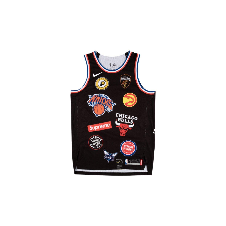 41f23b280f9d Supreme x Nike x NBA Teams Jersey