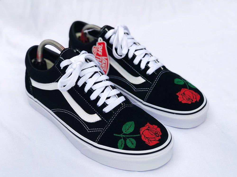 vans n roses