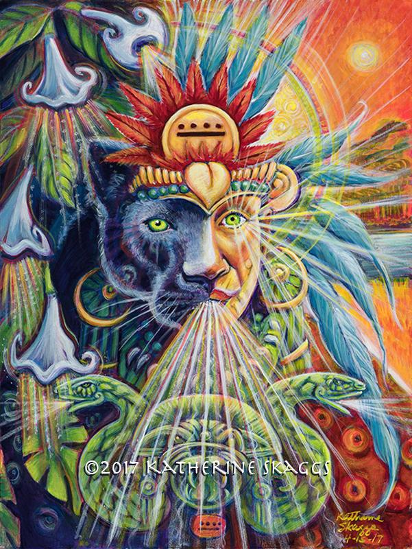 Mayan Jaguar Shaman