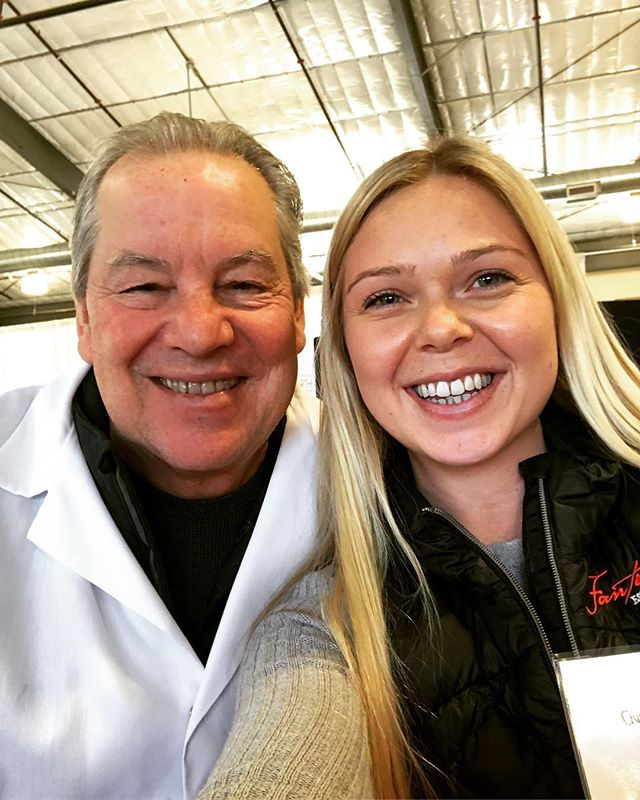 The man, myth, & the legend... Awesome opportunity for our winemaker, Chelsea, to judge wines with @freddame for the North Coast Wine Competition.  Congratulations to the winning wines which were announced this past week in the Press Democrat!