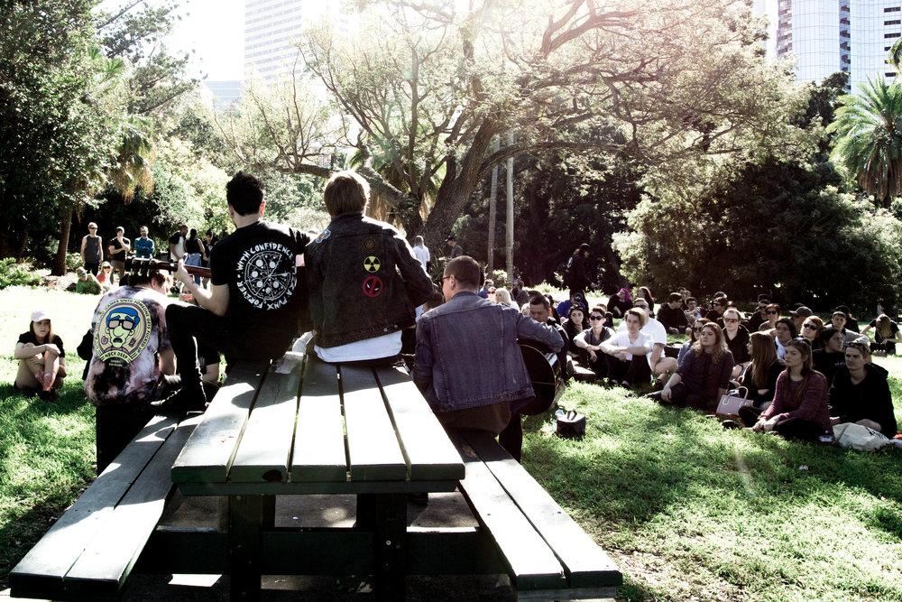 Acoustic Park Gig - Shorelines - Botanical Gardens - 02.07.17 28.jpg