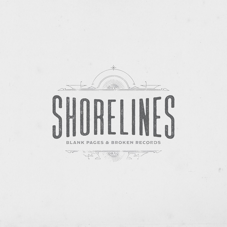 Blank Pages & Broken Records CD — Shorelines