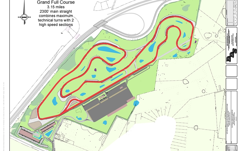 We will be using NCM Grand Full Course layout for our event!