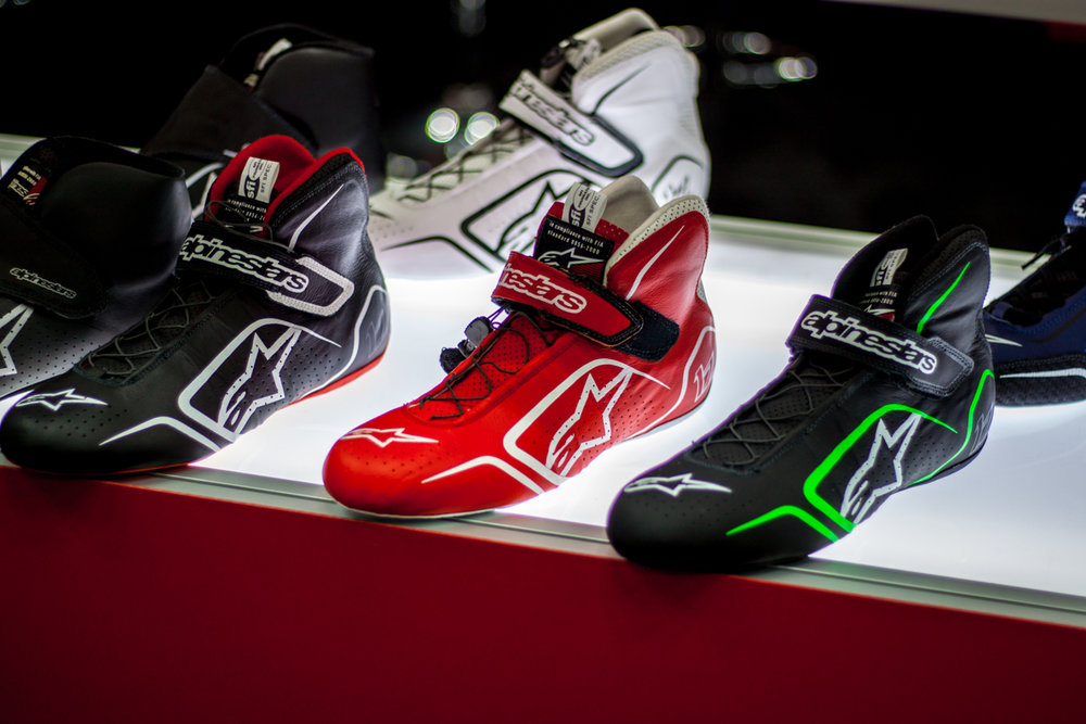 The new Alpinestars 2018 lineup is flashy, stylish, and sleek. I really need to update my driving attire, the suede shoes I have are way outdated.