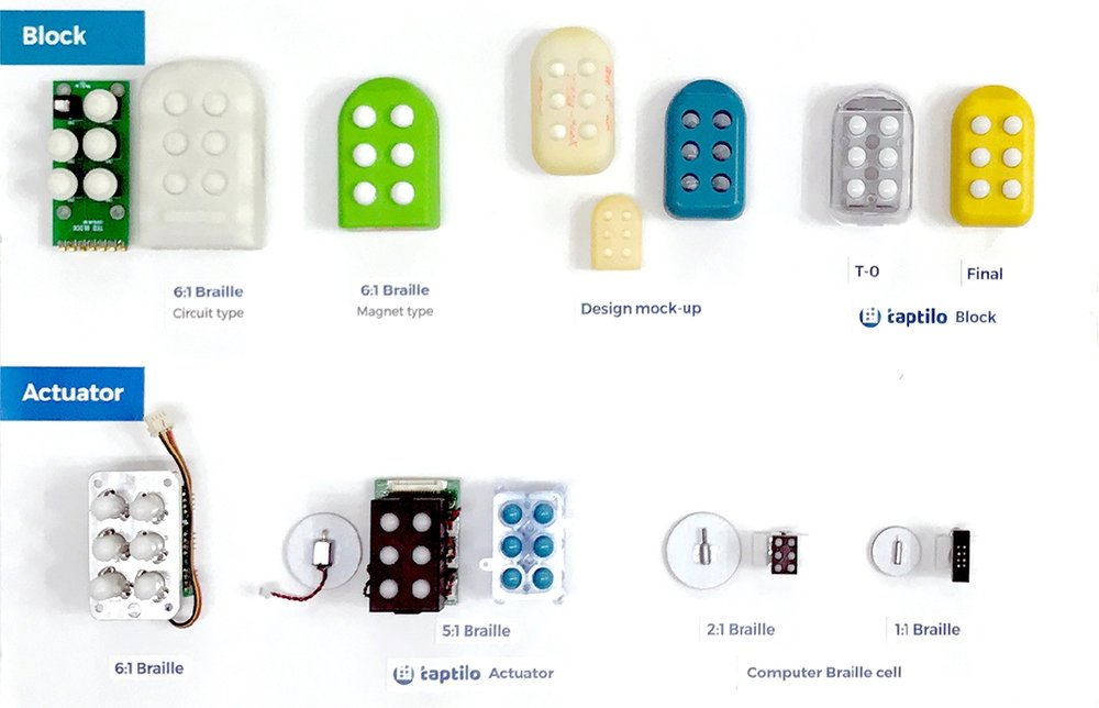Future - With its unique micro braille cell technology, OHFA TECH is developing various innovative products that will help braille learners go through necessary education and learn skills required to live independent life.
