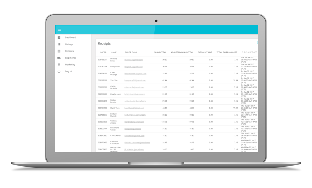 Track Receipts - Because the most important part of your business is getting paid!