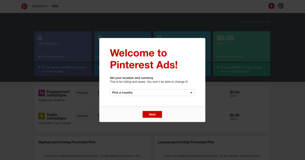 creating pinterest ads