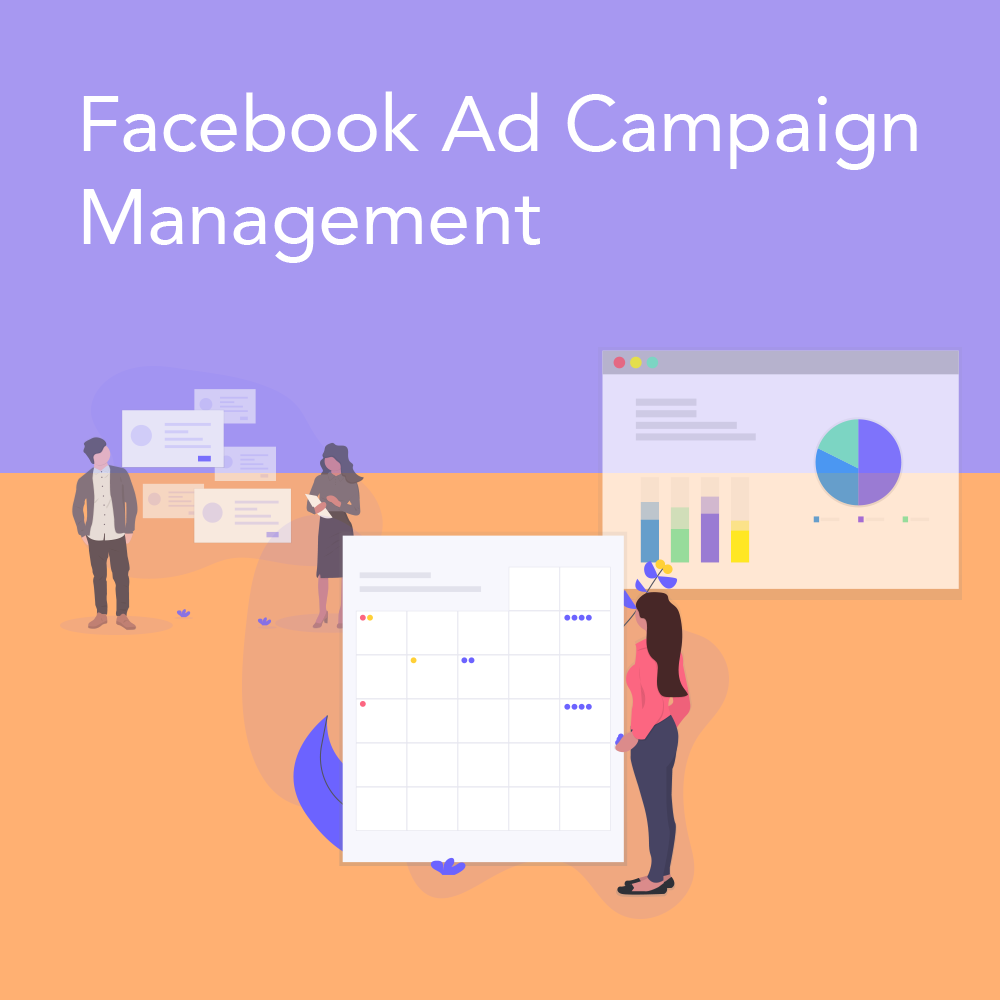 Facebook Ad Management - Our top tier service. We'll do everything for you for $999/mo. It's like having your own personal marketing employee.