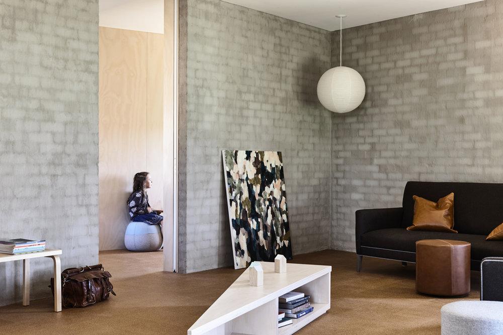 Moody Landscape   2015  Goulburn Valley House, Rob Kennon Architects Photography: Derek Swalwell
