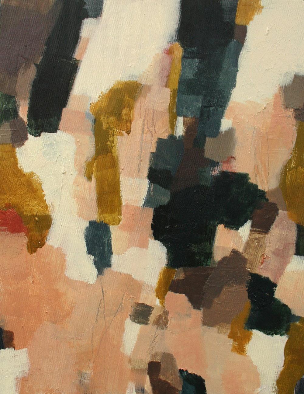 Wander  2015 Oil on canvas, 45 x 35cm