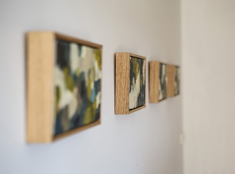 Immersion    Solo Exhibition 2016 Photography: Elizabeth Clancy