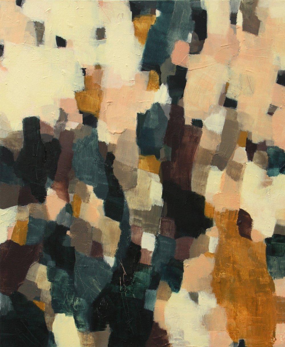 Introspection #1  2015 Oil on canvas, 61 x 51cm