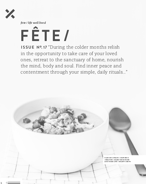 Fête Issue No. 17 June 2016