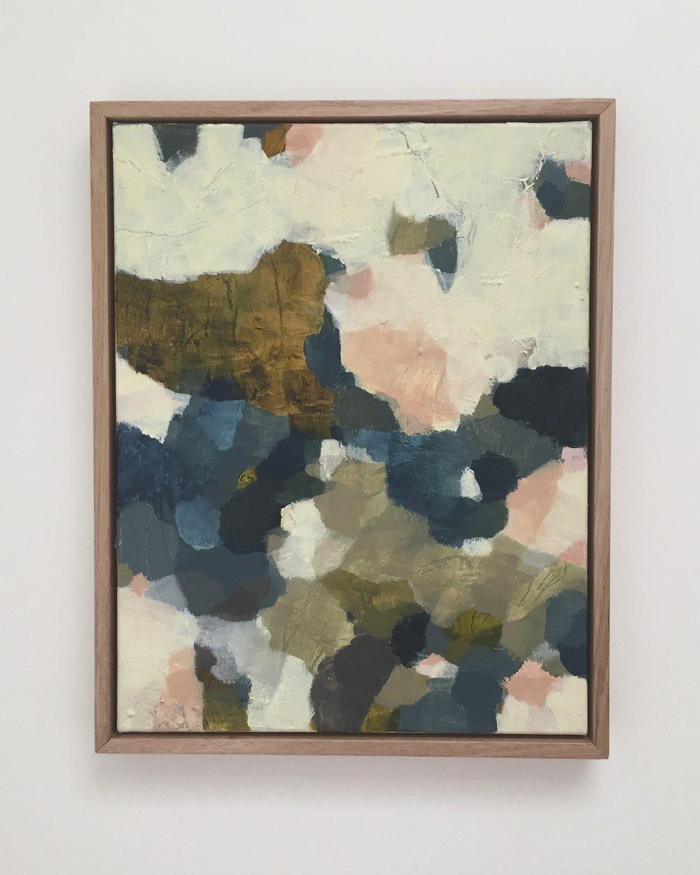 Perception #2 , 2016 Oil on Canvas 45 x 35cm
