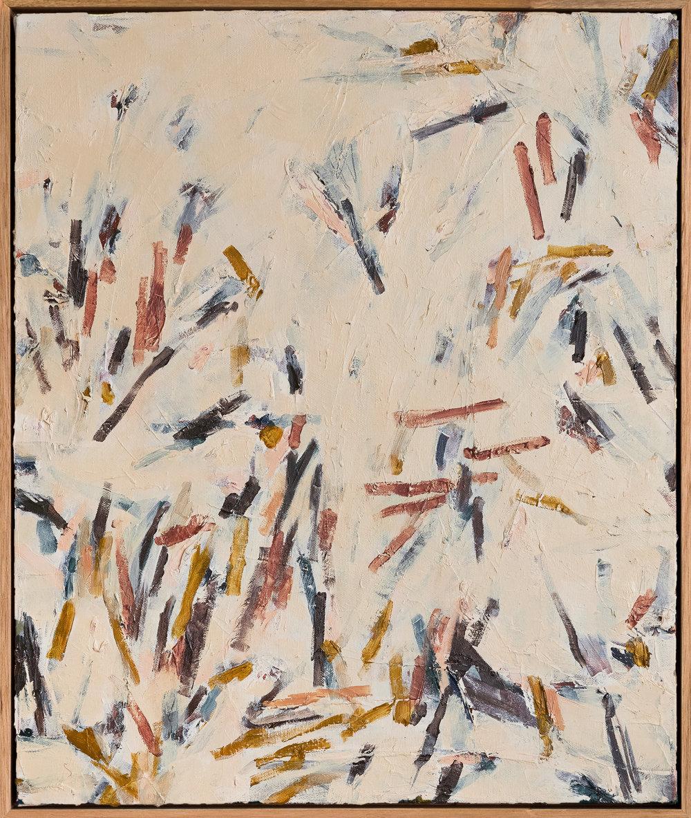 Lyrical Place #1   2017 Oil on canvas, 61 x 51cm