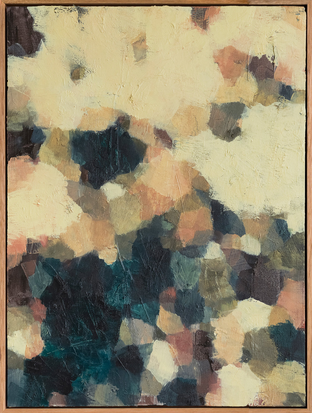Fallen Light #2    2017 Oil on canvas, 61 x 46cm