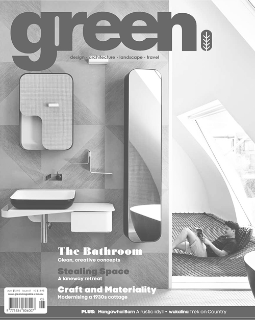 Green Magazine    Issue 61  The Design Co-op  August 2018