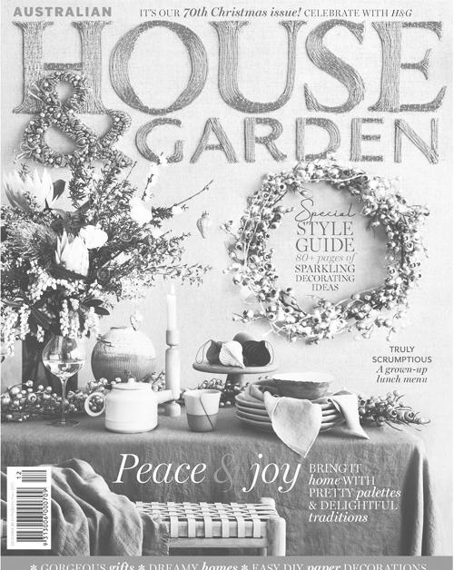 House & Garden    'Meet the Maker' Artist Profile & Calendar Feature — July 2018