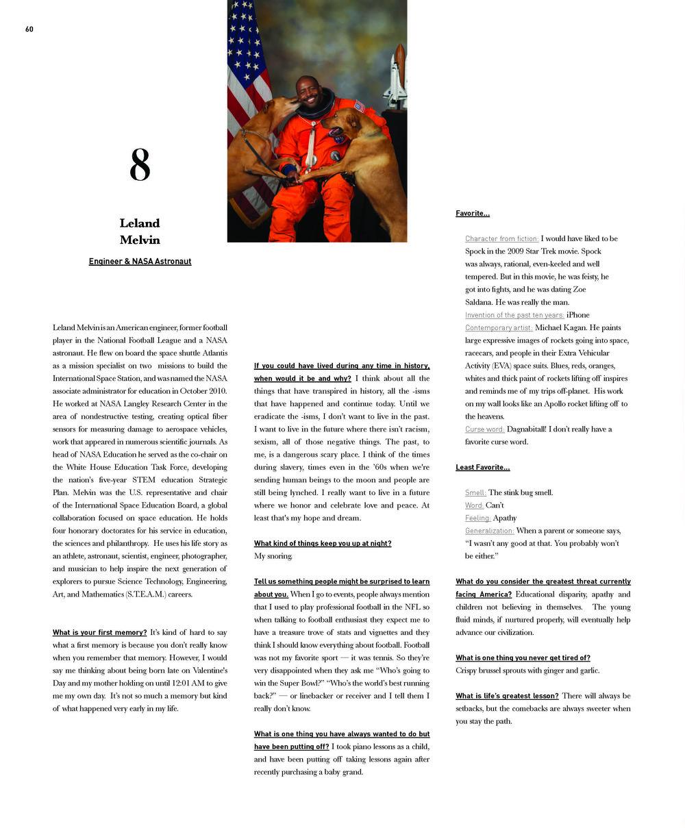 Interview // Leland Melvin