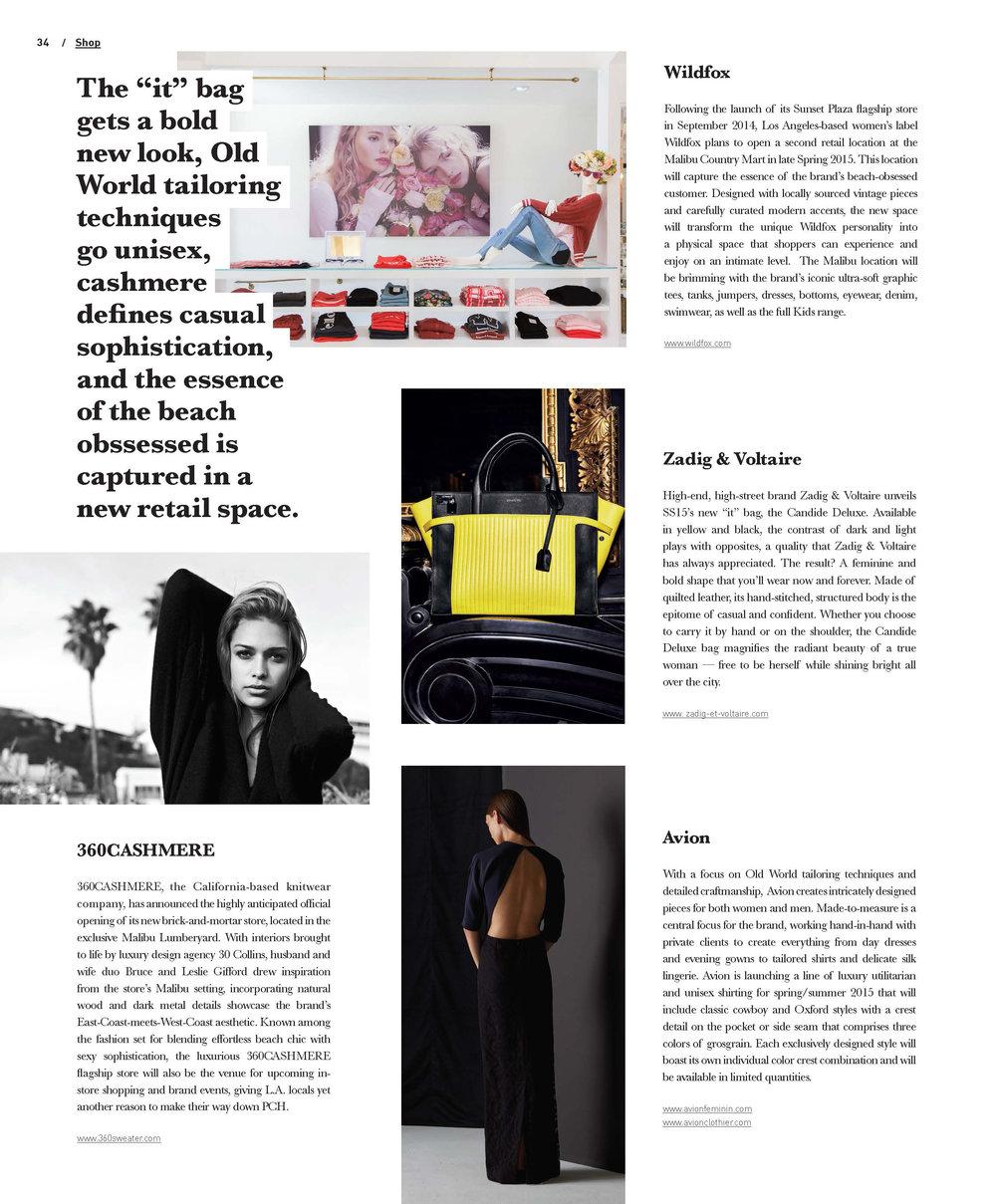 Editorial // Shop Page