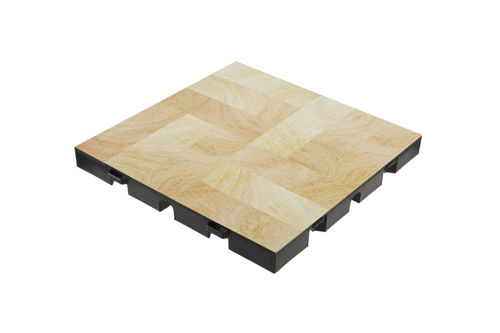 everblock dance floor light wood