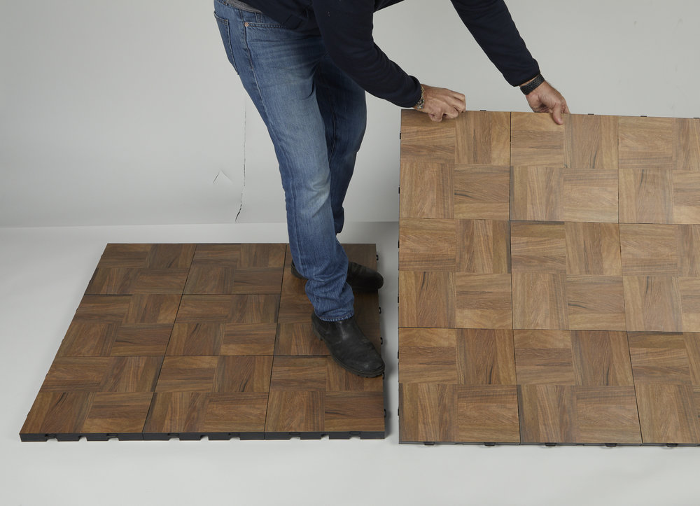 Installing EverBlock Modular Flooring