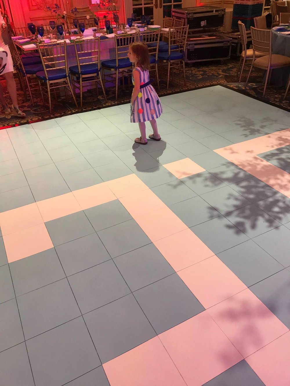 Modular Colorful Dance Floor