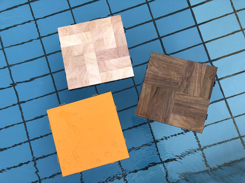 All EverBlock flooring is waterproof and can handle wet and humid environments