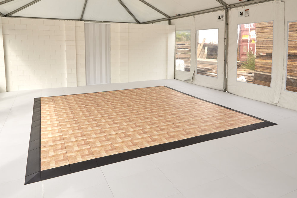 Place an EverDance dance floors on top of EverBase or inlay INTO the EverBase for a seamless transition.