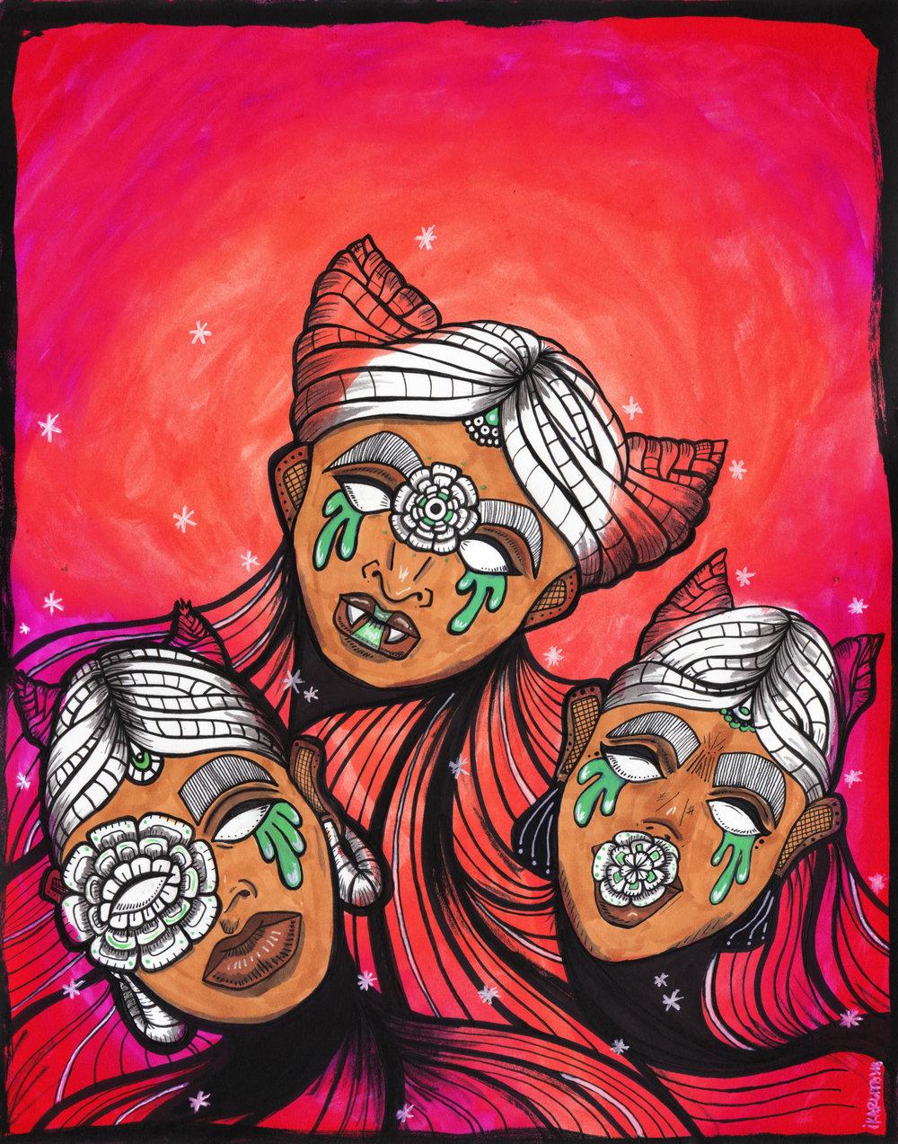3 HERMANAS / 3 SISTERS
