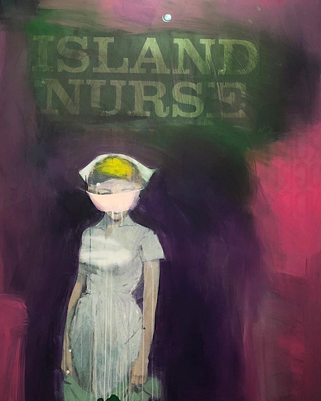 Pulp fiction #RichardPrince / Island Nurse 2002 Est $5-7M @christiesny . .  Always remember seeing this show at #barbaragladstonegallery at the time they were made #enhanced #appropriation #fairuse #artlaw #outlaw #zeitgeist #auctionweek #withfriends  @micheledamoredesigns