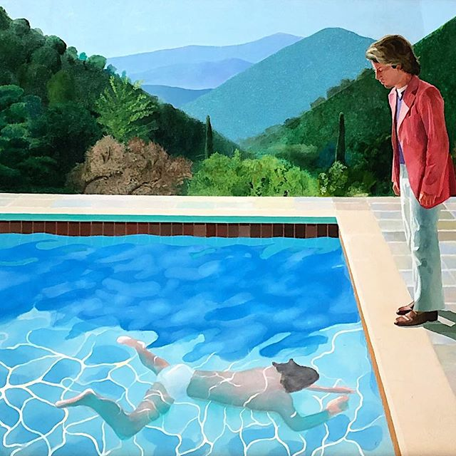 Best in show #DavidHockney / Portrait Of An Artist (Pool With Two Figures) 1972 @christiesrenyc. . . #noguarantee #noreserve #priceonrequest #80m ? #watchthisspace #christiesauctionhouse #artadvisor #artadvisory