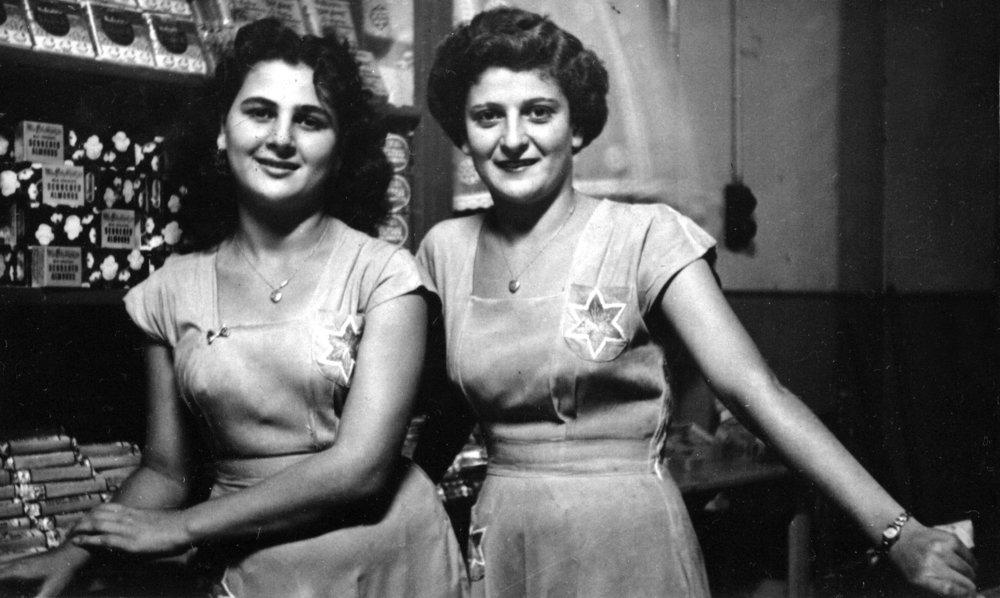 - Marion & Julie Canaris, Star Milk Bar 1951