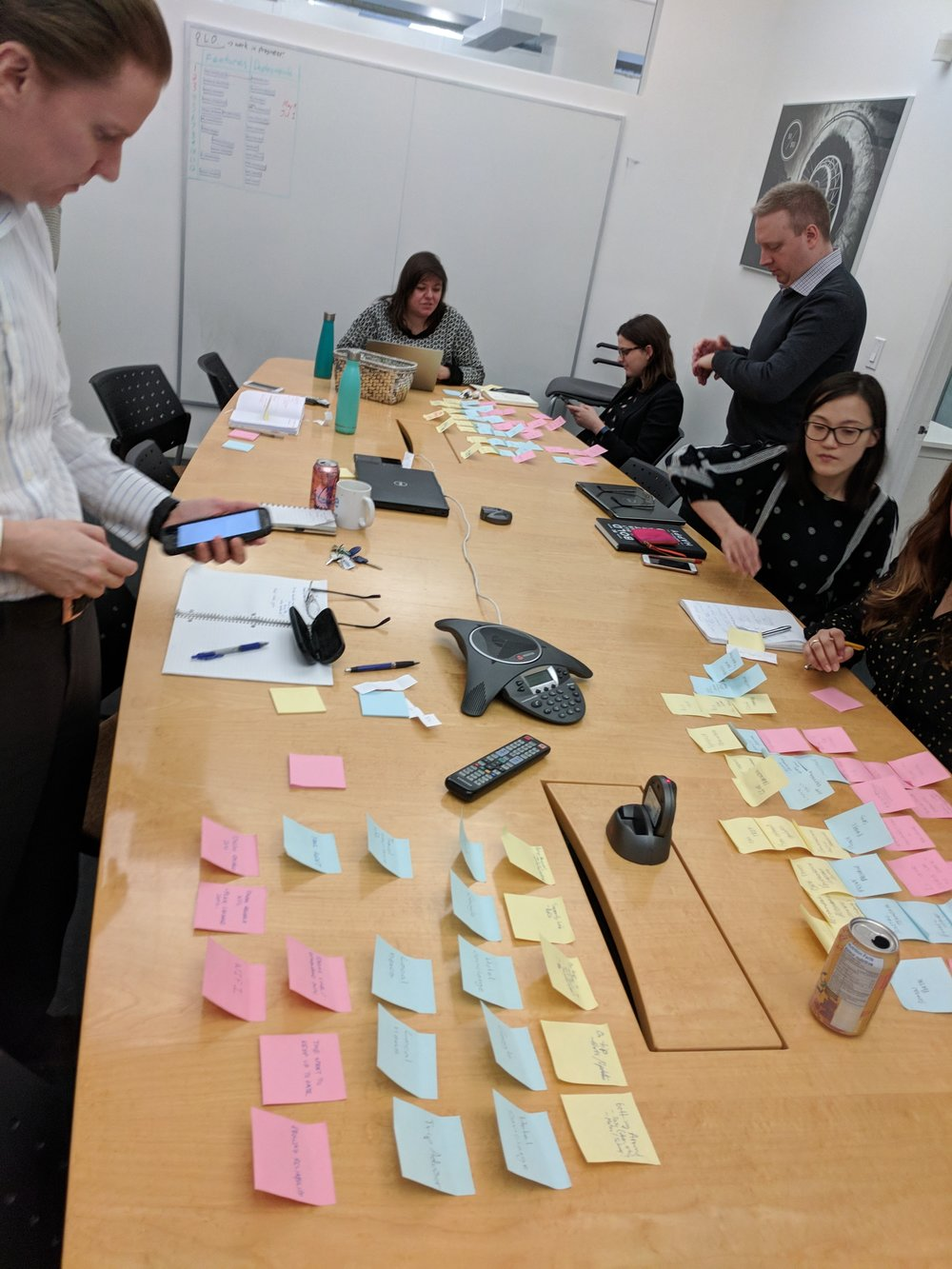 Product workshops taught our department leads to look at opportunities with empathy, and to storyboard to find solutions to our most pressing design challenges.