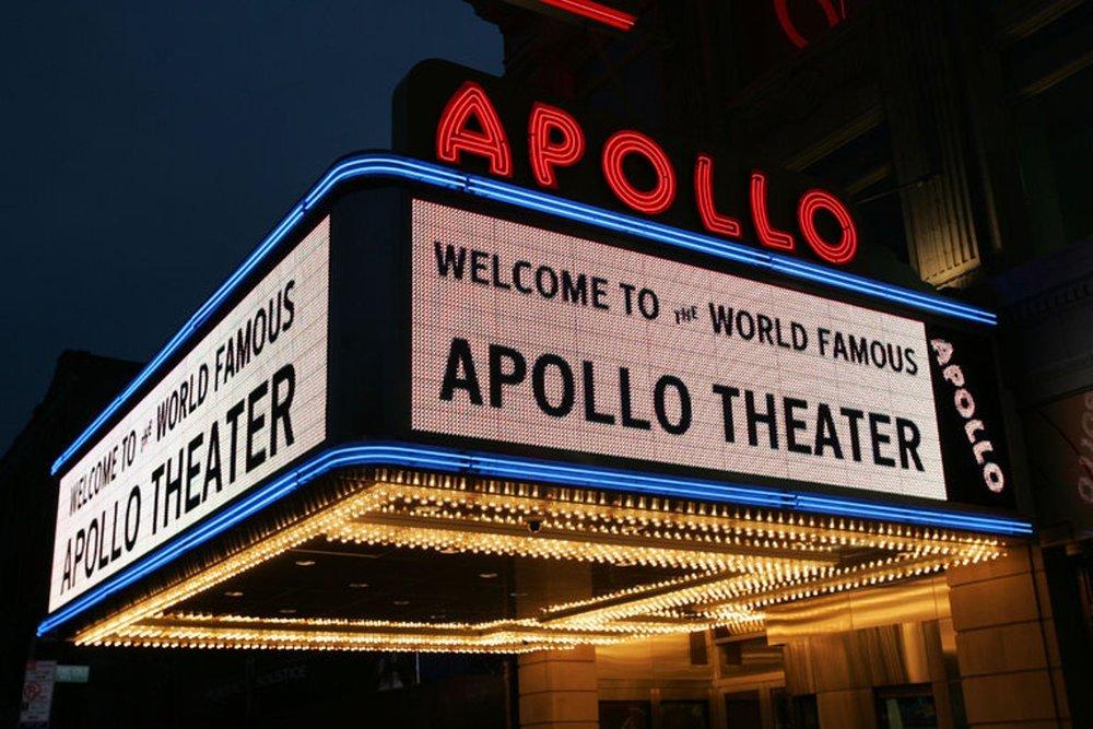 El legendario teatro Apollo de Harlem fue el escenario del show de Conan