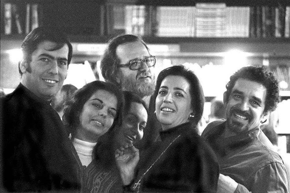 García Marquez y Vargas Llosa, antes del famoso puñetazo que acabo con su amistad en 1976.