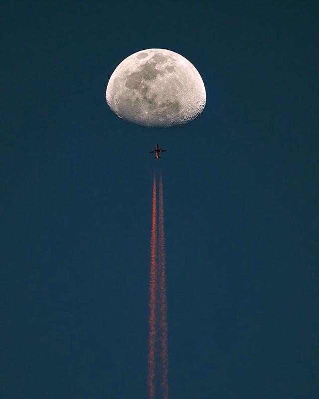 Momentos exactos en los que un hombre viaja hacia la luna para traérsela a su enamorada. #TropicalmenteElegantes
