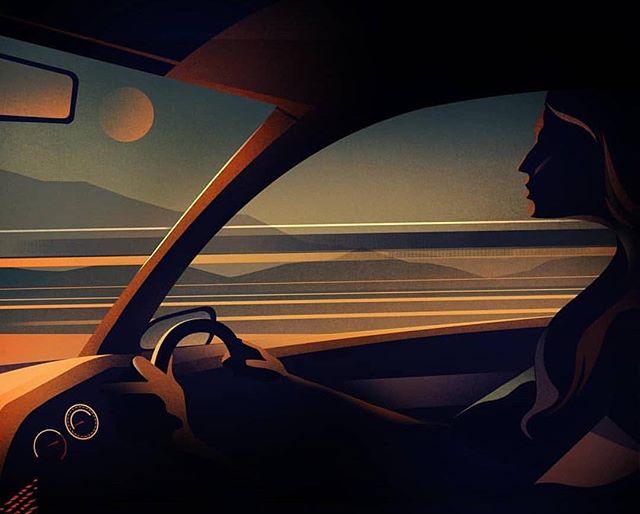 Viajes largos a la madrugada, Daft Punk en la radio. #TropicalmenteElegantes