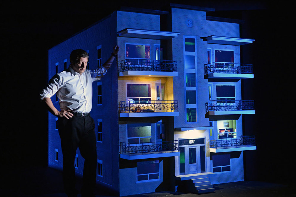 THEATRE    887  Ex Machina/Robert Lepage    Music and sound design