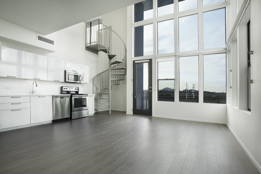 Two Bedrooms Lofts: $2,325   $3,460