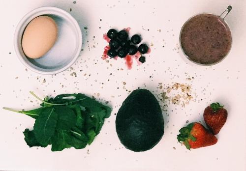 breakfast deconstructed