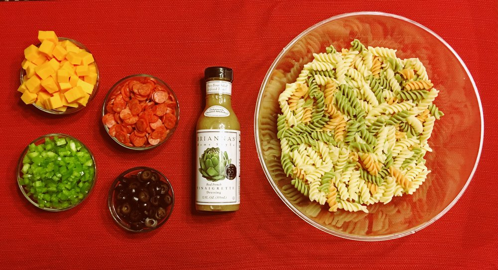 Classic Pasta Salad - It's a classic for a reason
