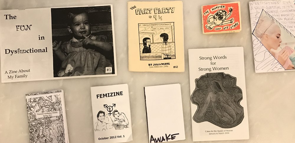 some of my personal zine collection