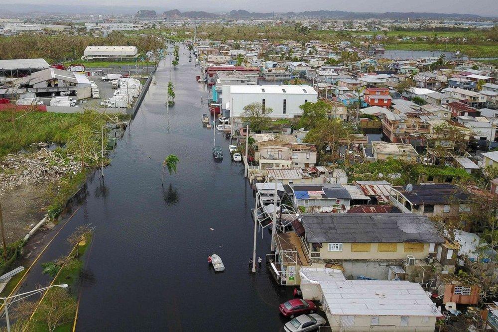 Puerto Rico post-Hurricane María