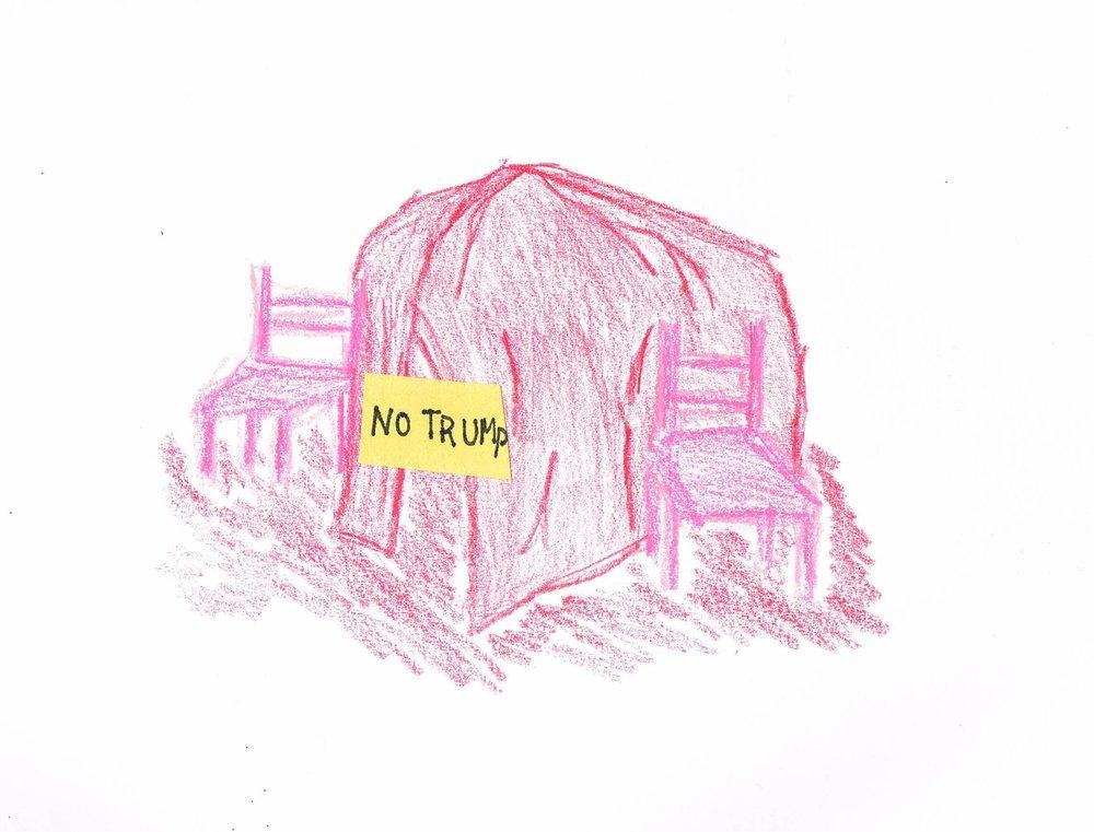 No Trump Allowed Blanket Fort.jpg